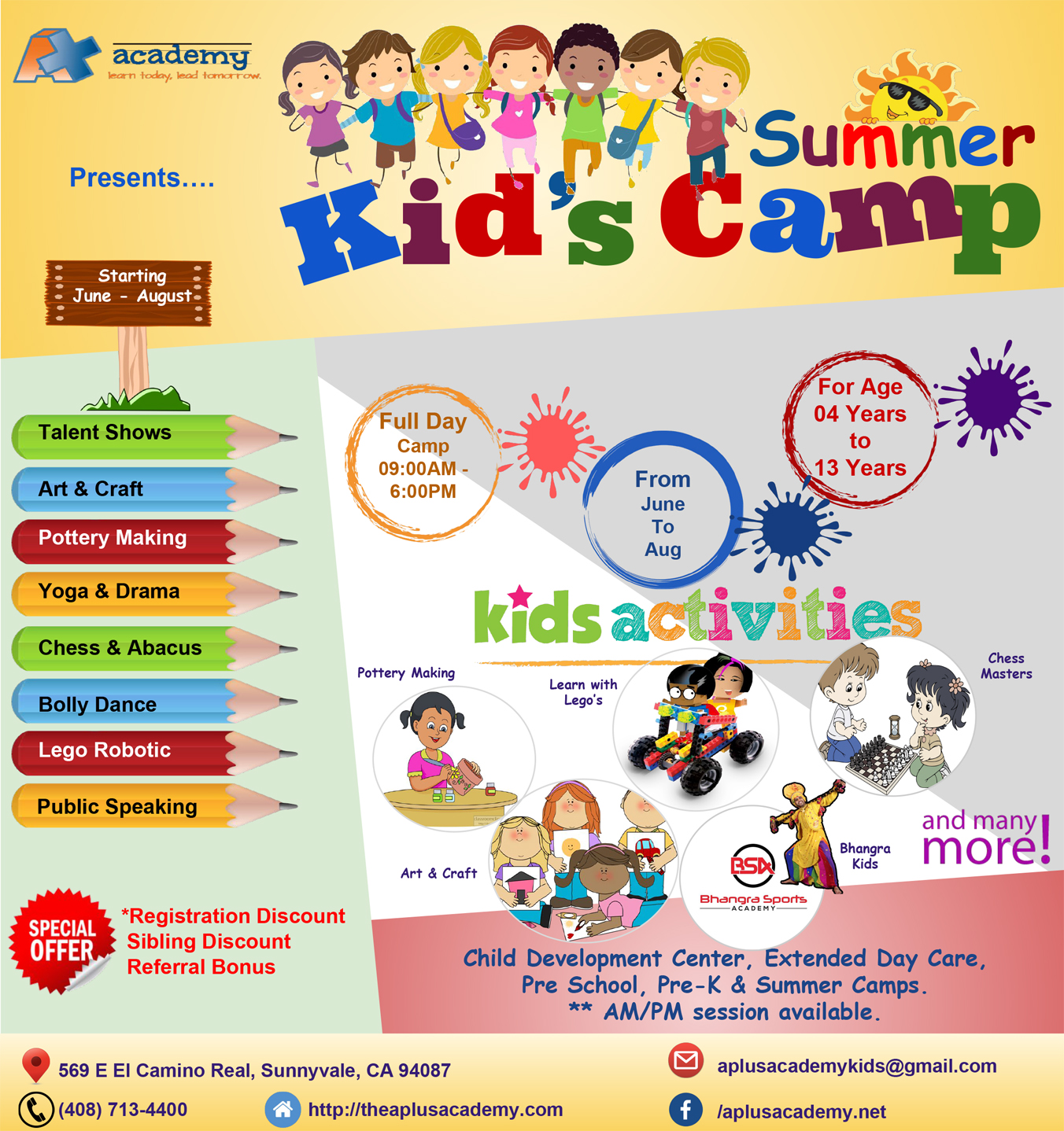 Summer Camp A+ Academy